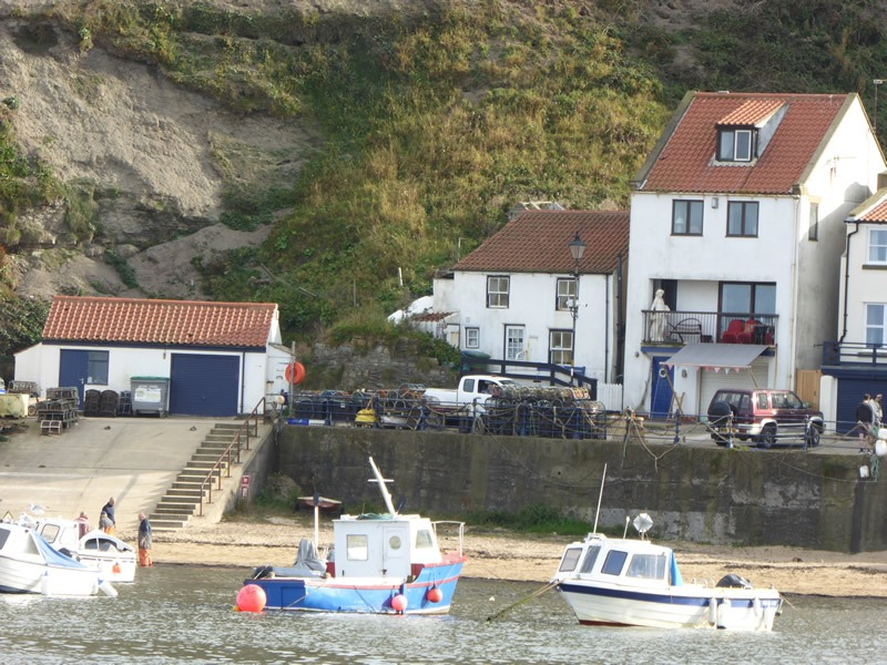 Staithes-boat-launch